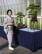 The Japanese Consul's wife at the National Exhibition