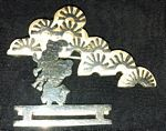 SBA silver brooch, in 2 sizes
